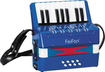 children 17 key 8 bass hot sale and cheap plastic musical instrument accordion