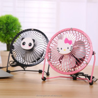 USB Metal Fan 4 Inch 6