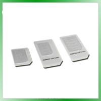 Free sample Nano SIM adapter to Micro and Standard Sim Card Adapter mobile pin