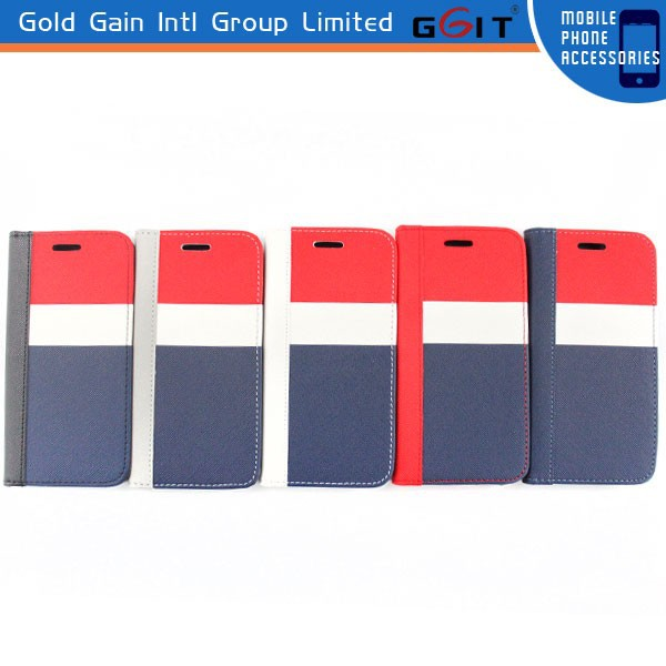 Factory price for samsung for note 3 flip cover, wallet pu case for samsung for note 3 leather case