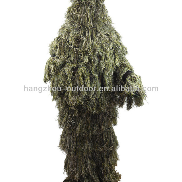 Lightweight Forest Camo Ghillie Suit wholesale wool yarns