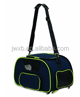 Airline Approved Durable Portable Dog Bag Soft Sided Travel Pet Carrier