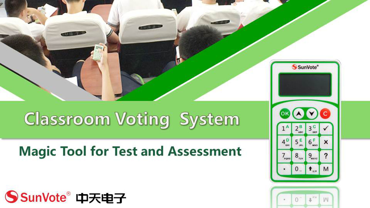 Wireless  Classroom Voting System Clicker