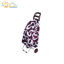 Zero gravity China made beach trolley cart, grocery trolley bag, pet trolley