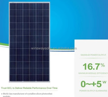Made-in-China High Efficiency 320W Poly Amorphous Silicon Solar PV Module