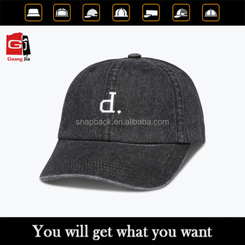 Good quality custom baseball caps with logo embroidery on