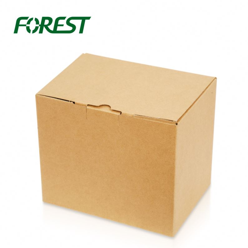 Matte Black Corrugated Shipping Boxes Cardboard Knife Box