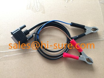 DB15P to Battery clip Power Charger cable