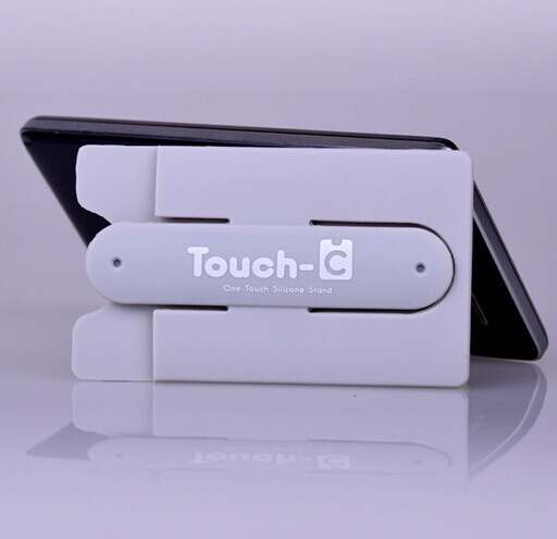 3M sticker removable silicone card holder with stand