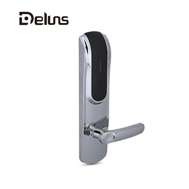 rfid key card hotel electronic front door locks with card door lock system