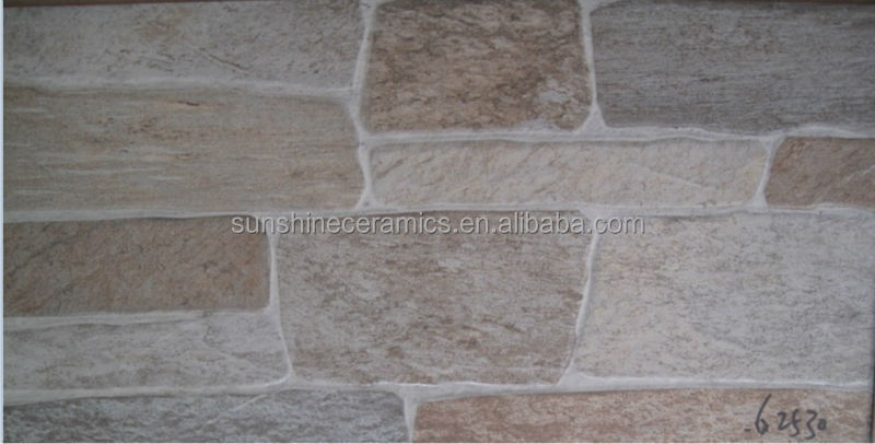 CHEAP 300x600mm Inkjet Stone Look Exterior Wall Tiles