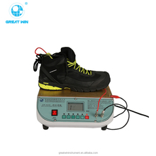 Safety Shoes Electrical Static Dissipating Testing Machine/ insulation resistance tester/Electricity Resistance Tester