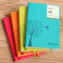 China wholesale goods stationery notebook splice pattern leather cover notebook for meetng record