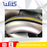 weld pipe fittings Butt Welding Pipe For Oil And Gas Project Elbow Fittings