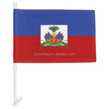 Wholesale Hot Sell Haitian car flag Haiti car flag