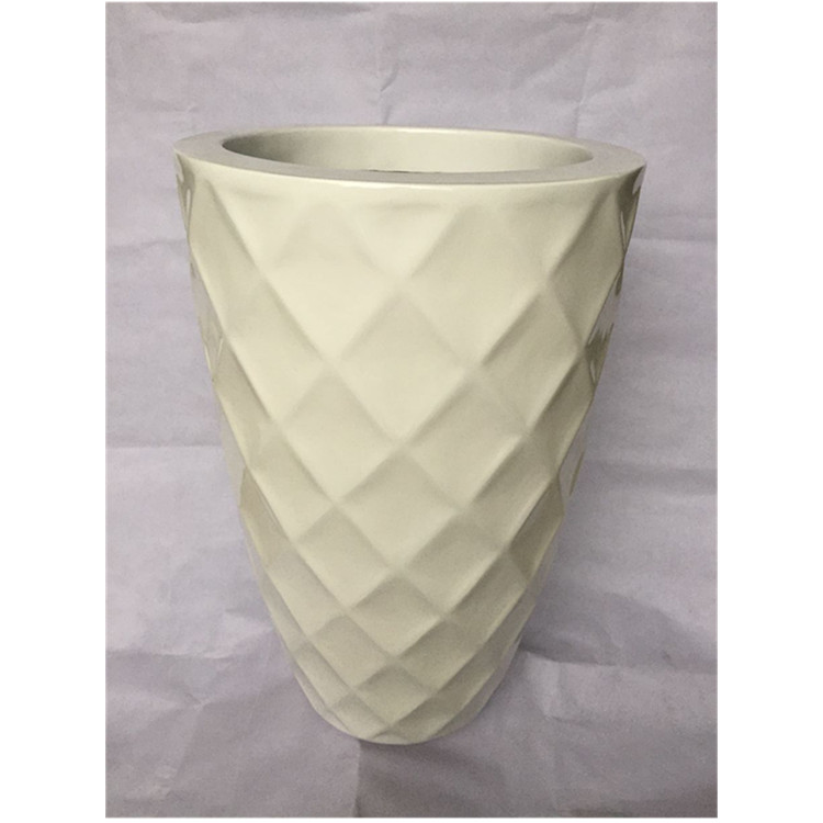 Good quality garden white flower pot for indoor & outdoor