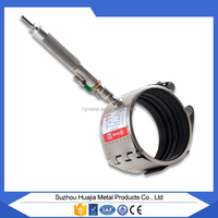 RCH-S easy install high quality sealing repair clamp,cycle using/low price stainless steel floding nature gas pipeline clamp