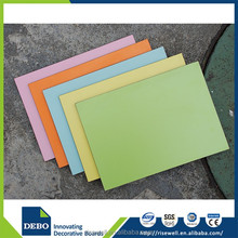 Hot sale CE certified 1.6-25mm high gloss acrylic compact laminate mdf panel