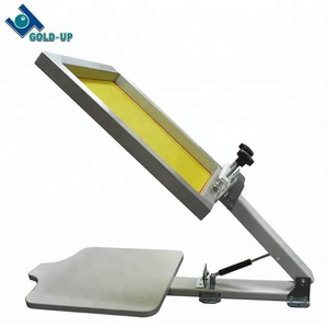 Cheap rotary screen printing machine for screen printing