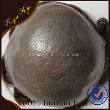 2015 Hot sale100% Human Hair Best Quality Cheap Black Men Hair Toupee