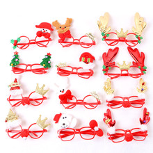 Christmas party decoration funny Christmas tree shaped plastic glasses