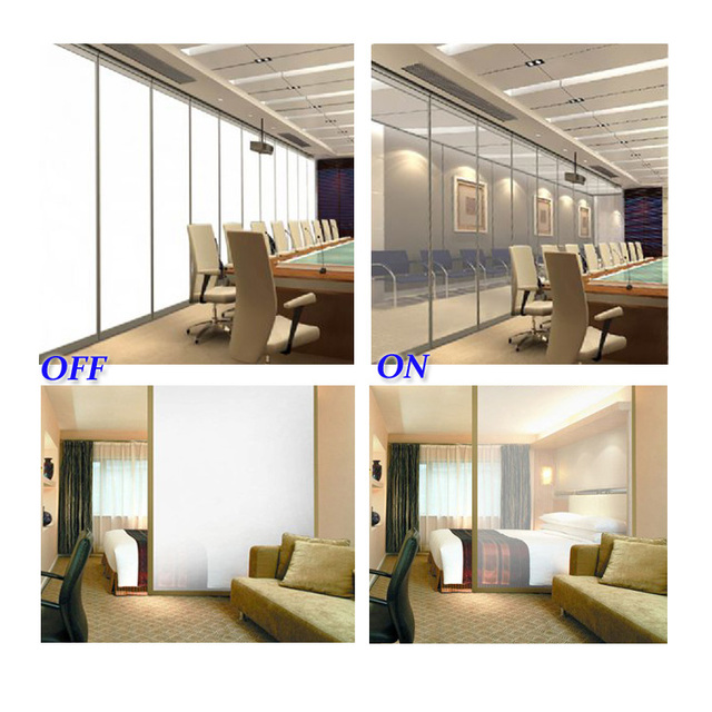 China Manufacturer Privacy Protection Smart Film Sheet Glass