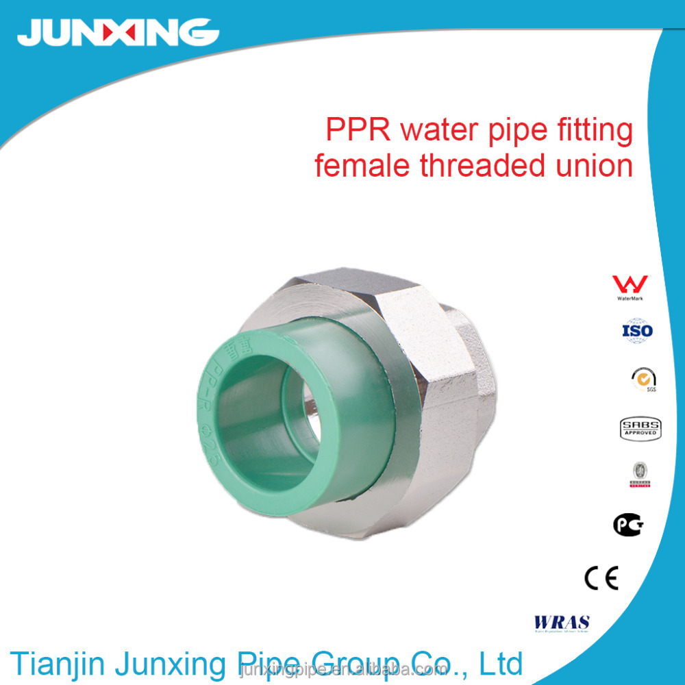 PPR Pipe Fittings male union fittings for hot and cold water