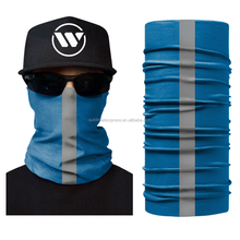 Custom Face Shields Fake Designer Scarves Men's Sports Winter Wraps Seamless Tube Fabric Fishinging Scarf Reversible Reflective
