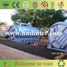 The most reasonable price high quality high oil yield pyrolysis waste tire recycling production line with CE