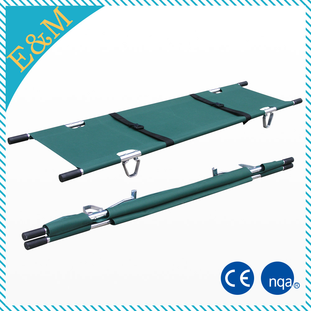 blue hospital medical military folding stretcher prices