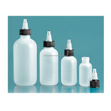 Best Selling 60ml 120ml 250ml 500ml LDPE empty super glue bottle for chemical and industrial