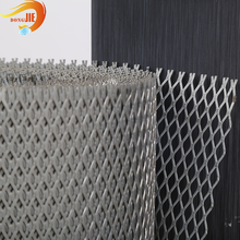 Flattened Low Carbon Factory Price Expanded Metal Mesh