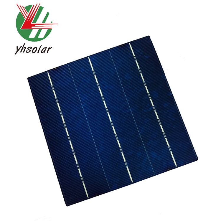 Cheap price high efficiency 4 watt to 4.38w multi polycrystalline solar cells 156x156 price for solar pv panels for sale