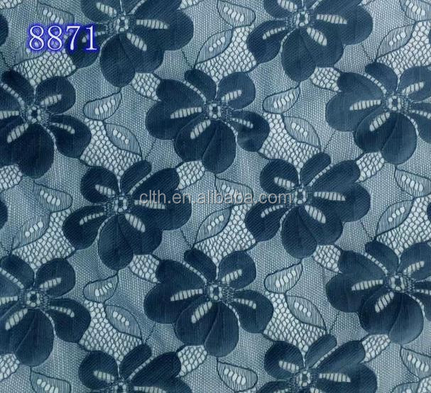 8871 lace fabric newest design of 2015
