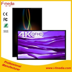 84 inch lcd touch screen monitor and smart tv for advertising with 4K UQHD