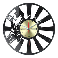 Quartz Analog Type vinyl record wall clocks