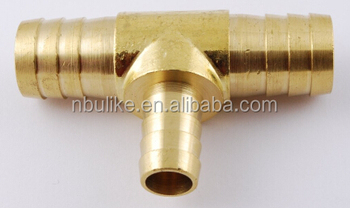 3 4 Quot X 1 2 Quot Brass Hose Barb Tee Reducer T Union Fitting