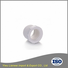 All sizes available pvc plastic male female bushing for pipes