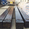Wholesale cheap price rectangular ms pipe hollow pipes weight