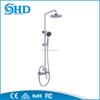 bathroom sanitary ware shower set and faucet