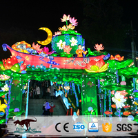 OAJ 8057 Theme Park Chinese Moon Festival Lantern Exhibition for Sale