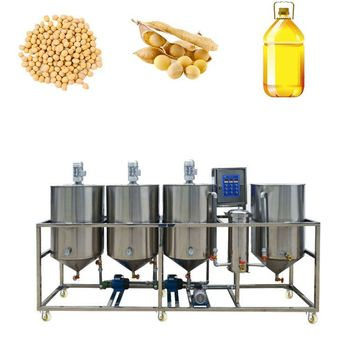 Indonesia best quality low price sunflower groundnut sesame crude soybean oil refining process flow chart
