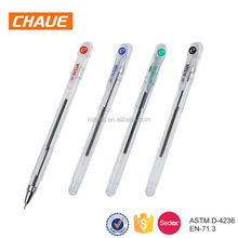 China high-end custom design fancy decorative clip plastic ballpoint pen