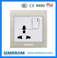 MF socket. 13A Multi functional socket outlet. electrical wall switch socket