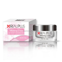 New product on the market REAL PLUS whitening cream