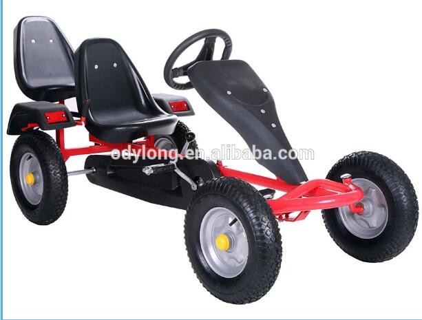 heavy duty adult 2 seat pedal go kart two seater