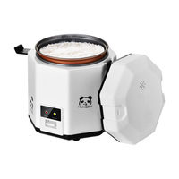 Portable travel electric mini rice cooker