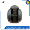 Furniture casters wheels/furniture shaft caster/small wheel caster from alibaba store