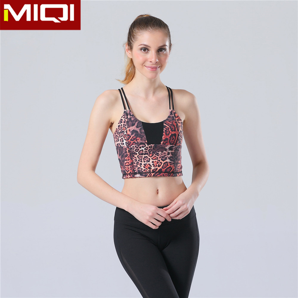 Popular Pattern Women Crop Top Wholesale With Stipes Sexy Highly Stretchy