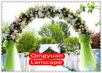 2.5 meters*2.5meters Wedding Flower Arch,wedding arch,artificial flower wedding arch,wedding arch with flowers,FREE SHIPPING